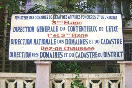 Direction nationale du domaine et des cadastres