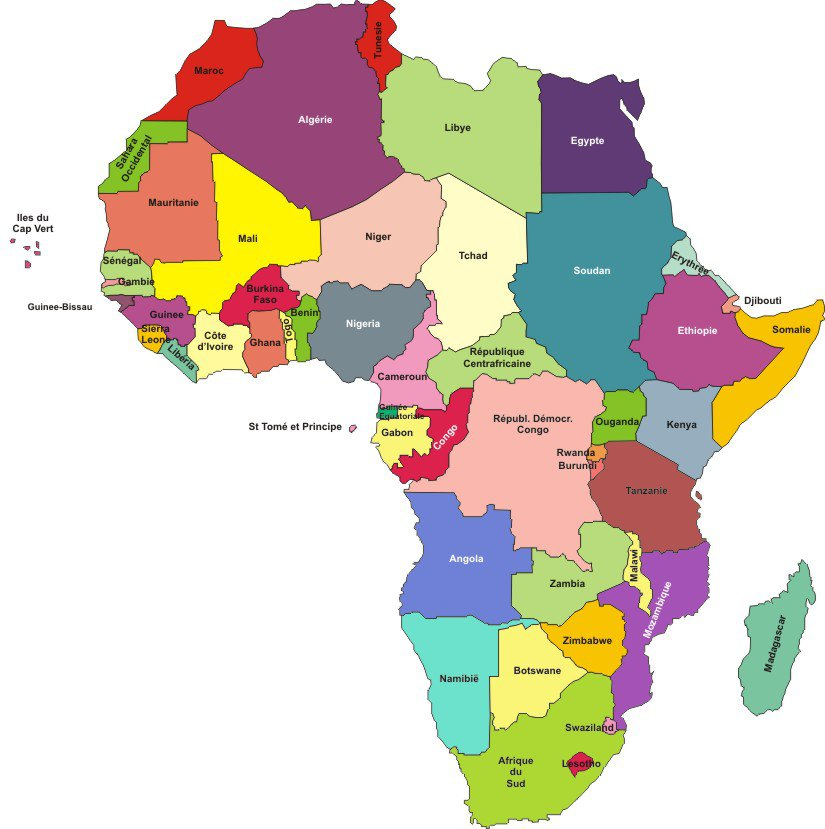 Carte Afrique Subsaharienne.50 Faits Interessants Sur L Afrique Subsaharienne