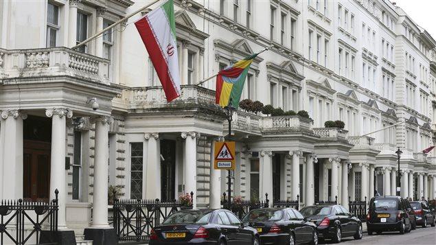 ambassade iran londres