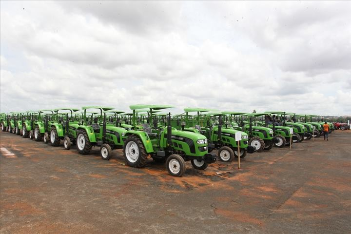 Mali IBK tracteur