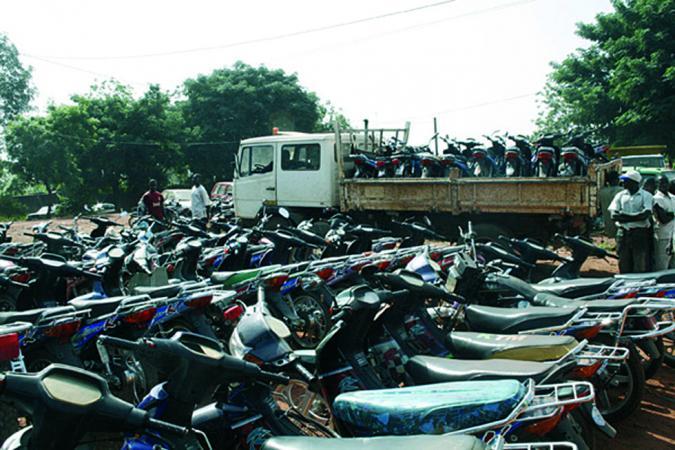 motos fourriere mali