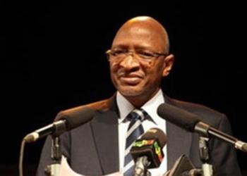 Soumeylou Boubèye Maïga, l'ancien ministre de la Défense du Mali.