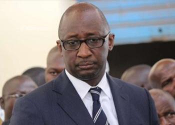 Tiéman H Coulibaly le président  du parti, l'Union pour la démocratie et le développement (UDD), Mali.