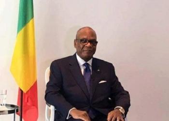 Une image du Président IBK, lors de son message télévisé aux maliens   le mardi 19 Avril 2016.